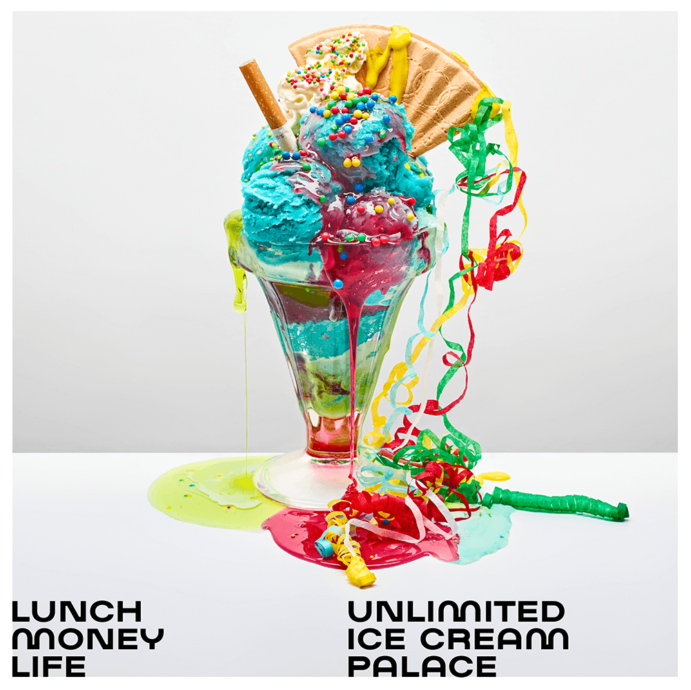 Lunch Money Life, Unlimited Ice Cream Palace Artwork
