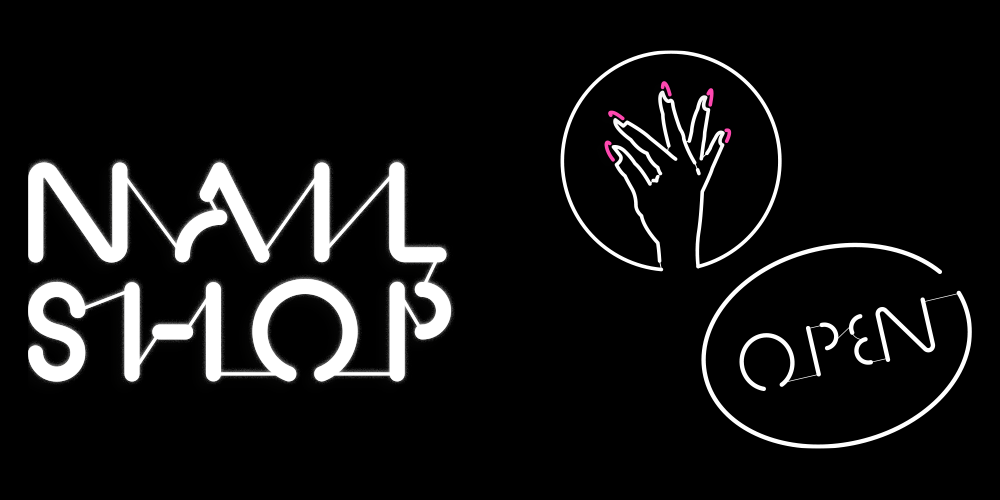 The Nail Shop Records, Neon Brand Assets