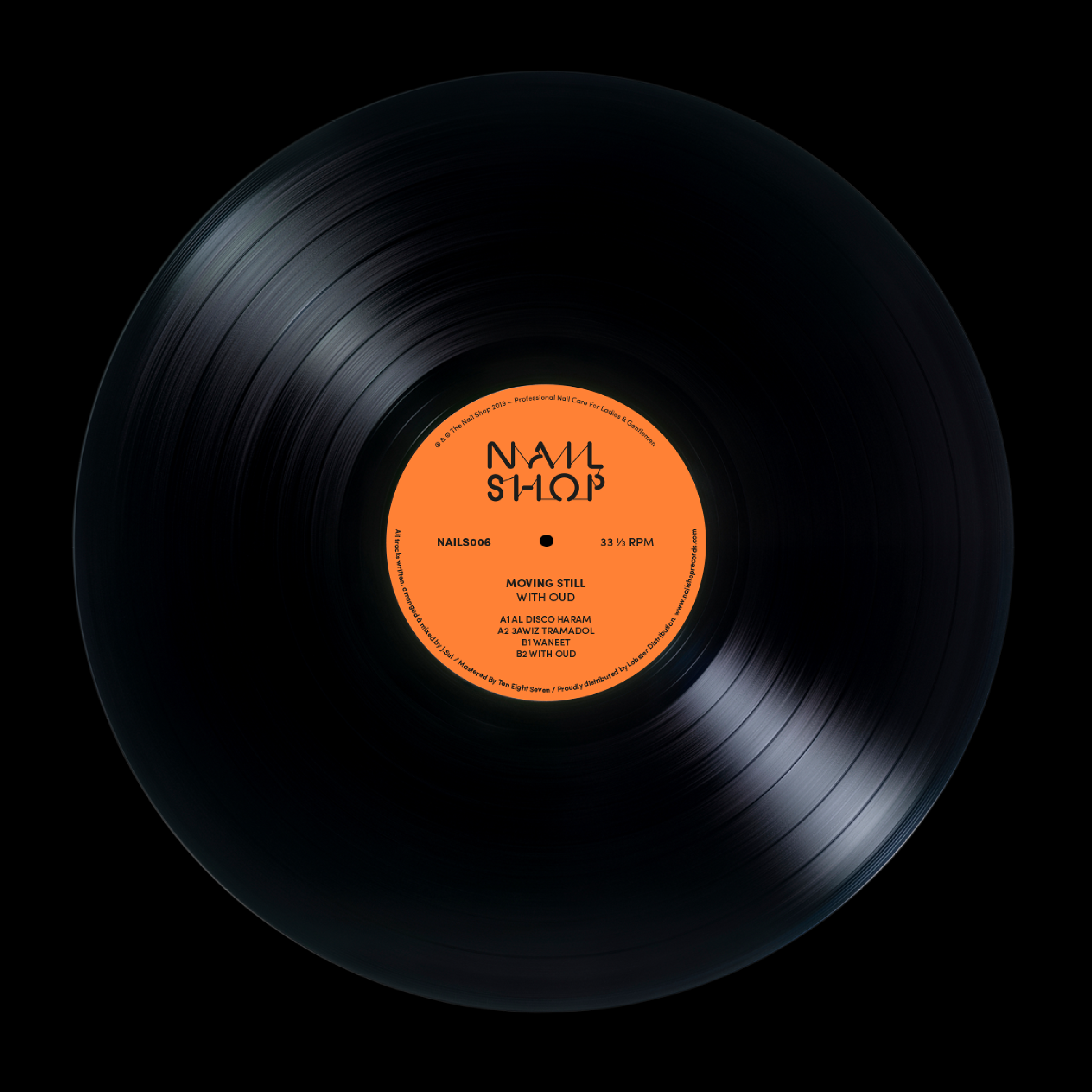 The Nail Shop Records, NS006, Movging Still, Side A